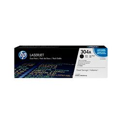 Toner HP 304A 2-pack Black Original LaserJet Toner Cartr