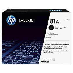 Tinta HP 81A Black Original LaserJet Toner Cartridge