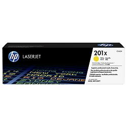Toner HP 201X High Capacity Yellow Orig. LJ Toner CF402X