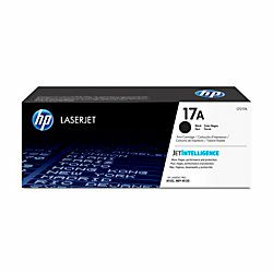 HP 17A Black  Original LaserJet Toner Cartridge