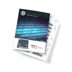 HP LTO7 Ultrium RW Bar Code Label Pack