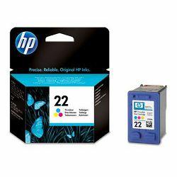 Tinta HP 22 Inkjet tri-colour Cartri