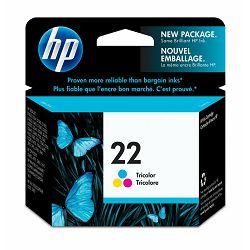 Tinta HP 22XL Tri-colour Inkjet Print Cartridge