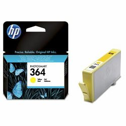 Tinta HP 364 Yellow Ink Cartridge