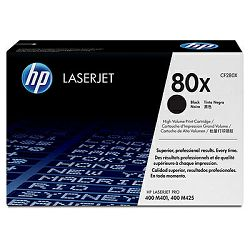 Toner HP 80X Black LaserJet Toner Cartridge