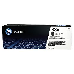 HP 83X Black LaserJet Toner Cartridge (CF283X)