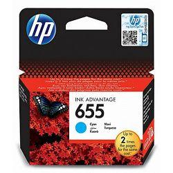 Tinta HP CZ110EA, plava, No.655.