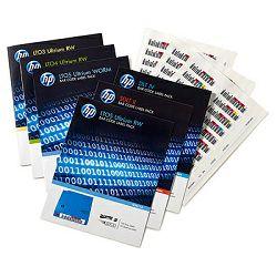 HP LTO6 Ultrium RW Bar Code Label Pack