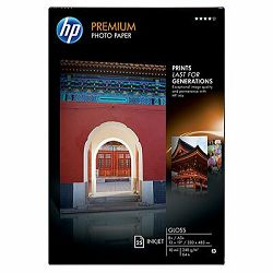HP  Premium Gloss Photo Paper-25 sht, A3+, 330 x 483m