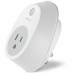 TP-Link WiFi Smart Plug, 2.4GHz, 802.11b/g/n, Home Automation app Kasa, local Wi-Fi control, Timer and Schedule settings