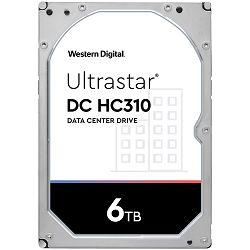 Tvrdi disk HDD Server WD/HGST Ultrastar 7K6 (3.5'', 6TB, 256MB, 7200 RPM, SATA 6Gb/s, 512E SE), SKU: 0B36039