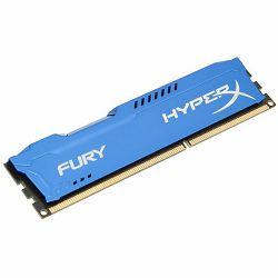 Memorija KINGSTON 4GB 1600MHz DDR3 CL10 DIMM HyperX FURY Blue Series