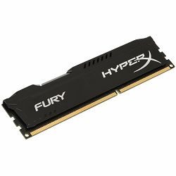 Memorija Kingston 8GB 2400MHz DDR4 CL15 DIMM HyperX FURY Black
