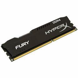 Memorija Kingston 4GB 2666MHz DDR4 CL15 DIMM HyperX FURY Black, EAN: 740617244373