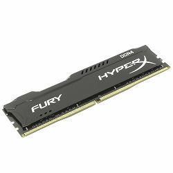Memorija Kingston 16GB 2666MHz DDR4 CL16 DIMM HyperX FURY Black