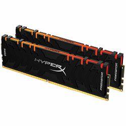 Memorija 64GB 3200MHz DDR4 CL16 DIMM (Kit of 2) XMP HyperX Predator RGB