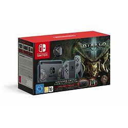 Igraća konzola NINTENDO Switch, Grey Joy-Con, Diablo III Limited Edition