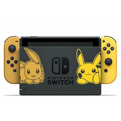 Igraća konzola NINTENDO Switch, Yellow Joy-Con, Pokemon Lets Go Eevee Bundle