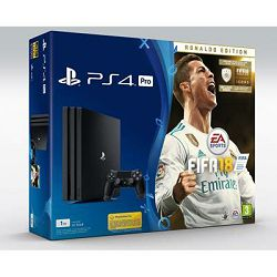 Igraća konzola SONY PlayStation 4 PRO, 1000GB, A Chassis + FIFA 18 Deluxe Edition + PS Plus 14