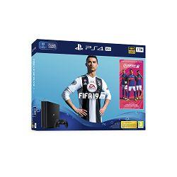 Igraća konzola SONY PlayStation 4 Pro, 1000GB, B Chassis, FIFA 19, 14 Days PS Plus + Marvel's Spiderman Standard Edition