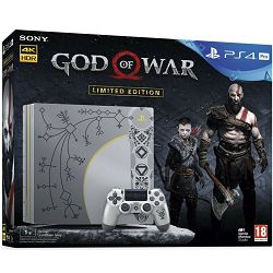 Igraća konzola SONY PlayStation 4 PRO Limited Edition, 1000GB, B Chassis, God of War, siva
