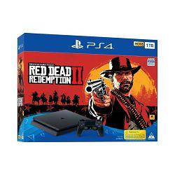 Igraća konzola SONY PlayStation 4 Slim, 1000GB, F Chassis, Red Dead Redemption 2