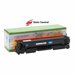 Toner Static Control HP Canon CF401A Cyan