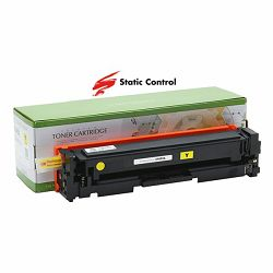 Toner Static Control HP Canon CF402A Yellow