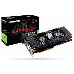 Grafička kartica INNO3D GeForce GTX 1060 6GB GDDR5X Gaming OC
