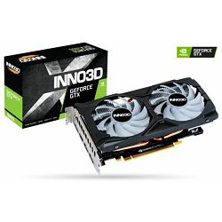 Grafička kartica Inno3D GeForce GTX 1660 Gaming OC X2 RGB, 6GB
