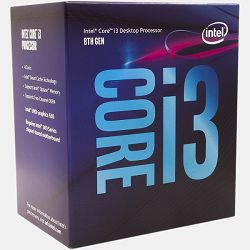 Procesor Intel Core i3 8100 3.6GHz,6MB,4C,LGA 1151