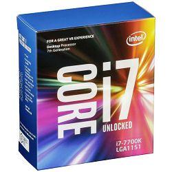Procesor Intel Core i7 7700K 4,2GHz,8MB,LGA 1151,bez hladnj