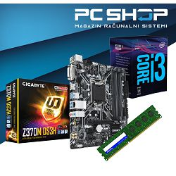 INTEL Coffe Gamer i3 Bundle
