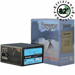 Napajanje INTER-TECH Energon EPS AC 220-240V, 50,60Hz, DC 3.3,5,±12V, 650W, Retail, Active PFC, 1x120