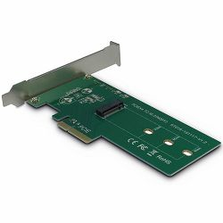PCIe Adapter for M.2 PCIe drives (Drive M.2 PCIe, Host PCIe x4), card