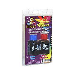 Zamjenska tinta Just Refill Foto tinta Duplo pakiranje (2×30ml Foto Cyan + Foto Magenta) (JR-KIPE)