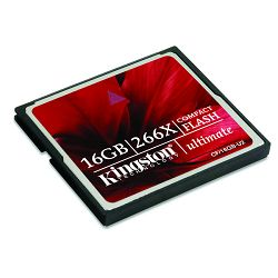 Kingston CF Elite Pro, 266X, 16GB
