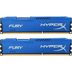 Memorija Kingston DDR3 HyperX Fury,1866MHz, 8GB(2x4GB) Blue
