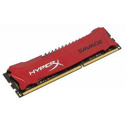 Memorija Kingston DDR3 HyperX Savage,2400MHz, XMP, 4GB,CL11