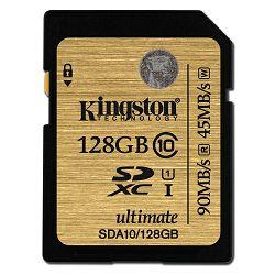 Kingston SDA10 Ultimate U1, Class 10, 128GB
