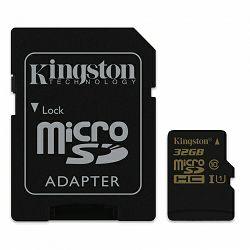 Kingston microSDHC, Class10, U1, 32GB