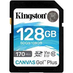 Kingston Canvas Go! Plus SD, R170MB/W90MB, 128GB