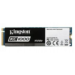 Kingston KC1000 NVMe 240GB,R2700/W900, M.2 2280