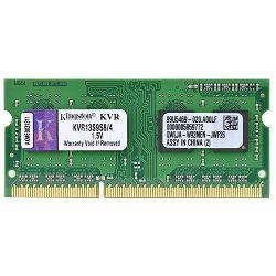 Memorija Kingston DDR3 1333MHz, CL9, SODIMM, SR, 4GB