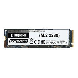 SSD KINGSTON 250GB KC2000 M.2 2280 NVMe SSD