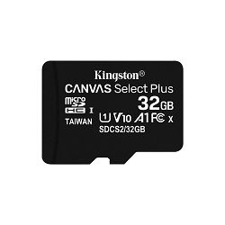 Memorijska kartica KINGSTON 32GB micSDHC Canvas Select Plus 100R A1 C