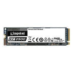 KINGSTON 250GB KC2500 M.2 2280 NVMe SSD