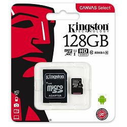 Memorijska kartica Kingston MicroSDXC Class10 128GB