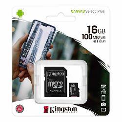 Memorijska kartica KINGSTON MicroSDHC Class10 16GB