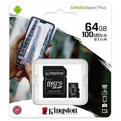 Memorijska kartica KINGSTON MicroSDHC Class10 64GB